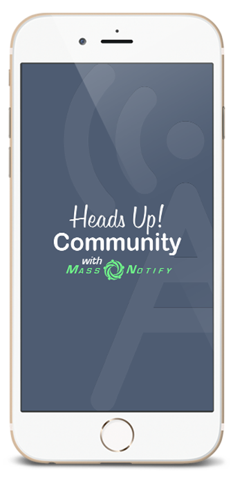 Heads Up Phone Logo